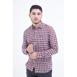 Cottonology Camden Red Long Shirt