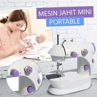 Mesin Jahit Mini Portable SM-202 Sewing Machine
