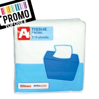 Promo Tissue Facial Alfamart Pop Up 200 Sheets / Tisu Wajah / Tisu Muka