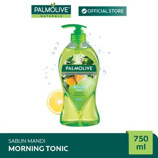 Palmolive Aroma Theraphy Morning Tonic Shower Gel/Sabun Mandi 750 ml