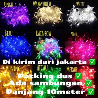 Lampu Natal led tumblr | tumblr light | lampu hias led | lampu dekorasi murah