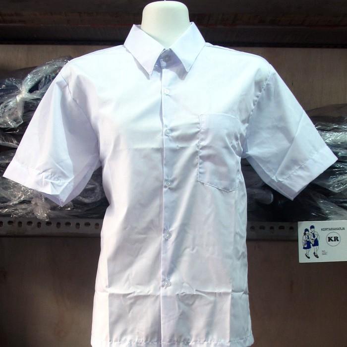 Diskon 40% Baju Pendek Polos No. 2L, 3L, 4L (Seragam Sekolah) Original