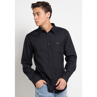 Cottonology Hella Long Black Shirt