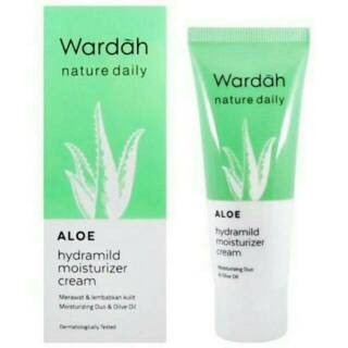 Wardah Aloe Hydramild Moisturizer Cream 40 ml