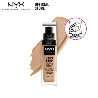 NYX Professional Makeup Can't Stop Won't Stop Liquid Foundation Make Up