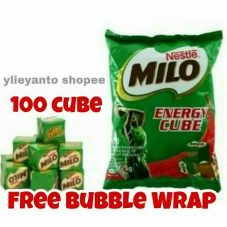 Milo Cube 100 pcs EXP MAR/FEB 2021. HARGA SPESIAL!!!