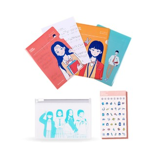 ATEEN GOODS SET (PAPER / POUCH / POINT STICKER)