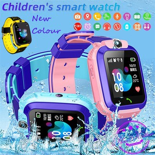 COD Smartwatch Anak Q12 Smart Watch SOS  Children Anti Air Cerdas Menonton SIM Card Q12B
