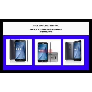 DISKON ASUS ZENFONE 2 ZE551ML RAM 4GB INTERNAL 64 GB 4G GARANSI DISTRIBUTOR - Perak NEW