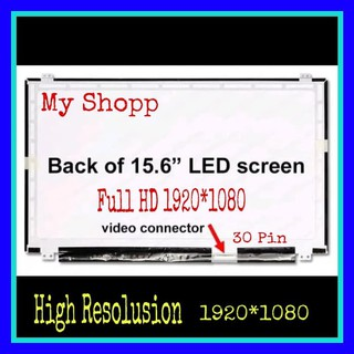 LED LCD Laptop Acer Aspire E15 E5-575-51GG 15.6 Slim 30 Pin FHD