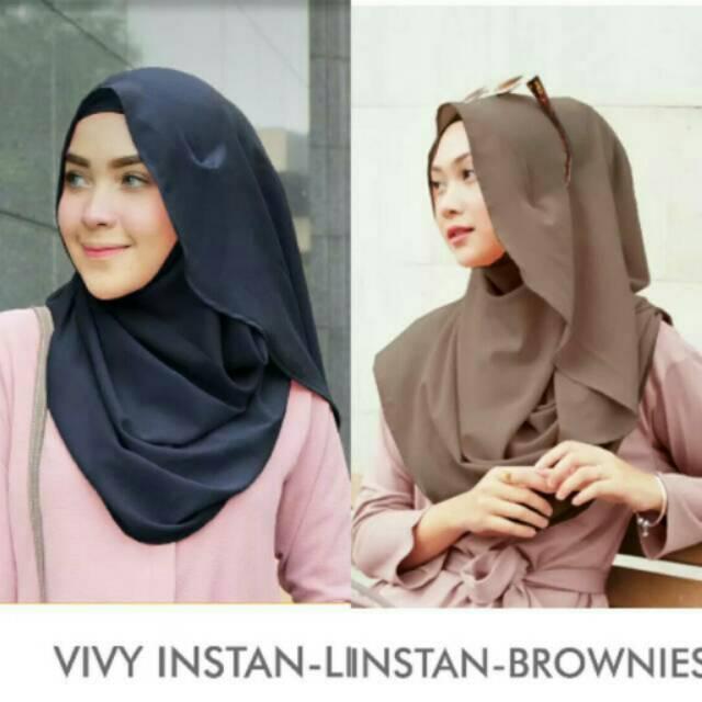 Vivy Instan Vanilla hijab