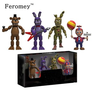 TERMURAH New Arrival Five Night At Freddy's FNAF Action Figures Doll Toys Foxy Freddy FNAF PVC