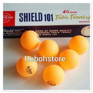 BOLA PING PONG TENIS MEJA SHIELD 101 40 MM ORIGINAL