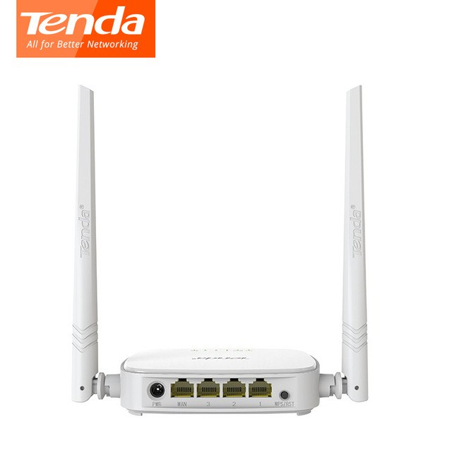 TENDA N301 Router Wireless 300Mbps Easy Setup Router - Regular