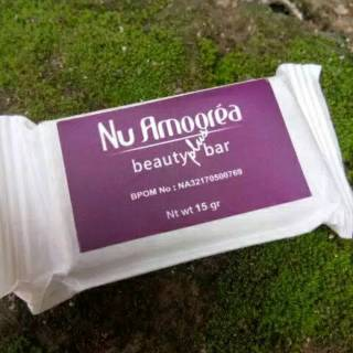 100% ORIGINAL Nu Amoorea Beauty plus 15 gr Stemcell original