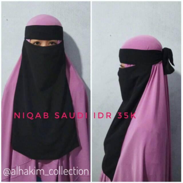 Cadar bandana / Niqob bandana / Niqob saudi bandana