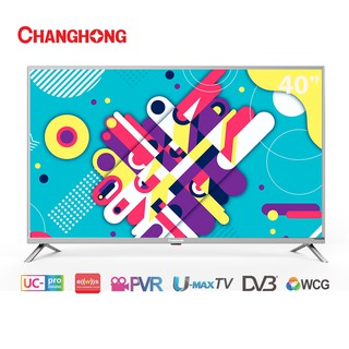 Changhong 40 Inch LED  TV Digital TV  40H1 FHD TV-HDMI-USB Moive-L40H1