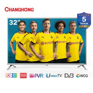 Changhong 32 inch LED  TV Digital TV 32H1 HD TV-HDMI-USB Moive-L32H1