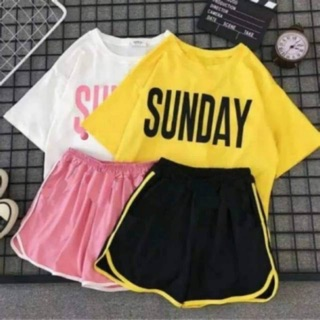 SET SUNDAY WANITA