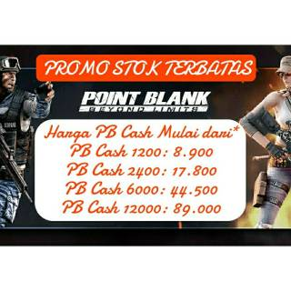 Point Blank Cash Zepetto 1200, 2400, 6000, 12000