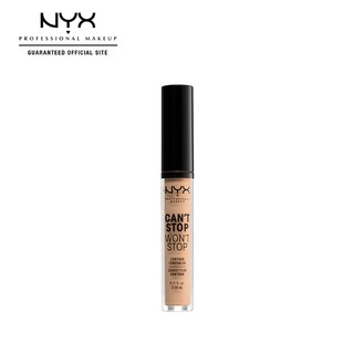 NYX Professional MakeUp Can't Stop Won't Stop Liquid Concealer Make Up - 07 Natural