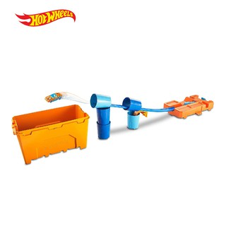 Hot Wheels Track Builder Stunt Barrel Box - Mainan Trek Mobil Balap