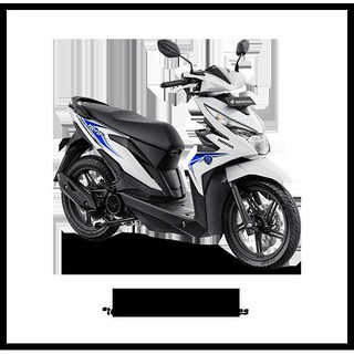 List Real Picture Honda All New Beat Esp Fi Sporty Cbs Iss Sepeda Motor (Harga Dp)
