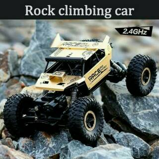 MAINAN MOBIL REMOT ROCK CLIMBER 4WD 2.4Ghz RC REMOTE CONTROL