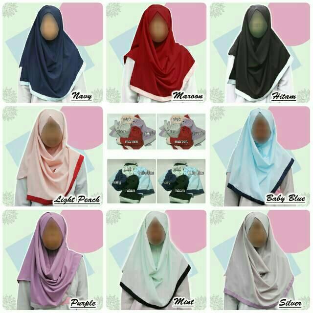 Hijab/Jilbab Pashmina Instan Lahza _ (Kerudung)