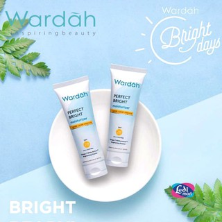 ORIGINAL Wardah Perfect Bright Moisturizer 20 ml BPOM / Normal Skin & SPF 28 / LEDI MART