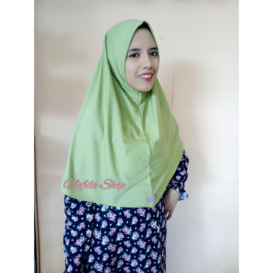 READY STOK BANYAK BEST SELLER Jilbab Instan Kaos Najwa Oleh-Oleh Haji Umroh Lebaran