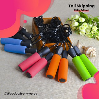 WAADOO Tali Skipping Jumping Rope Skipping Rope Colorful Sederhana dan Berkualitas