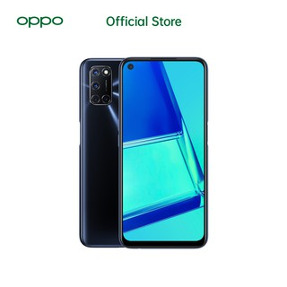 OPPO A52 6GB/128GB Black [Fast Charging 18W,5000 mAh,Snapdragon 665,AI Quad Camera]