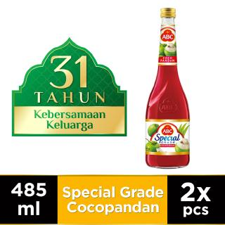 ABC Sirup Special Grade Cocopandan 485 ml - Twin Pack