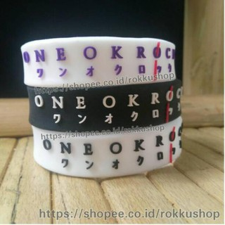@BAG-2482 Gelang wristband one ok rock <Promo_terbaru<