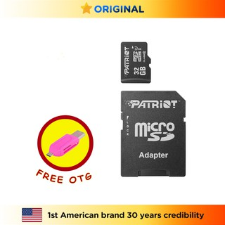 Patriot LX Series 32 GB 64 GB 128 GB C10 Micro SDHC Flash Card /  Memory Card / SD Card /  OTG