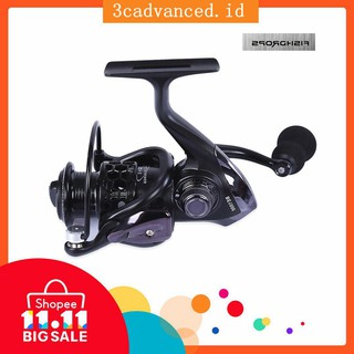 【3C-COD】Peralatan Pancing: Reel Model Lubang dng 12 Bola Bearing Spinning Reel FishingReel Outdoor