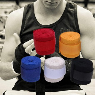 [In Stock/COD]  Sports Strap Boxing Bandage Muay MMA Taekwondo Hand Glove Wrap(one pc)