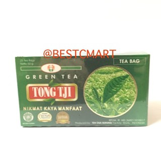 TONG TJI GREEN TEA / TEH HIJAU (TEA BAG) 50 GR