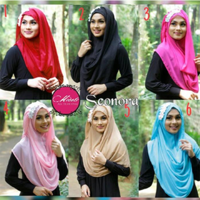 Variasi Hijab Seonora Instan Clcl01