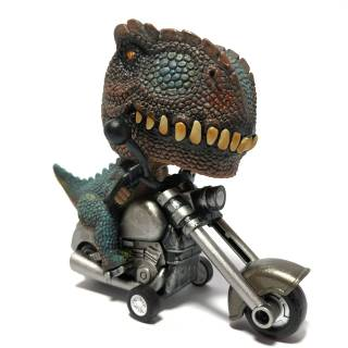 Motor Motoran Dinosaurus Animal Big Head Rider Mobilan Dino