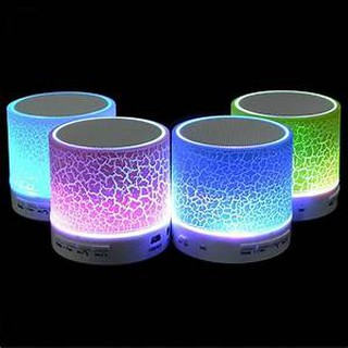 SPEAKER BLUETOOTH MINI S10 RETAK LED Wireless Speaker With TF Card Mic USB