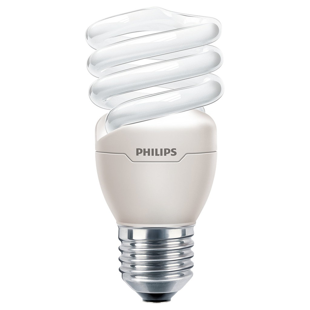 Philips Lampu Tornado 20Watt / 20W Warm White - Kuning