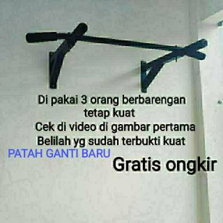 Pull Up Bar / Chin Up / Alat fitness di rumah / alat gym di rumah / Iron Gym Alat fitness