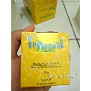 Cream Temulawak original malaysia /temulawak siang malam cream paket day & night original