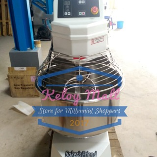 Mixer Roti Spiral 8 Kg Baker's Friend 1 Speed 1500 Watt