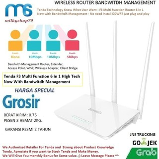 Tenda F3 7 in 1 Wireless Router+Extender+Access Point Adapter, Client , WR840N WR845N