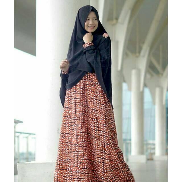 Gamis cerri set sparkle – hijab alila
