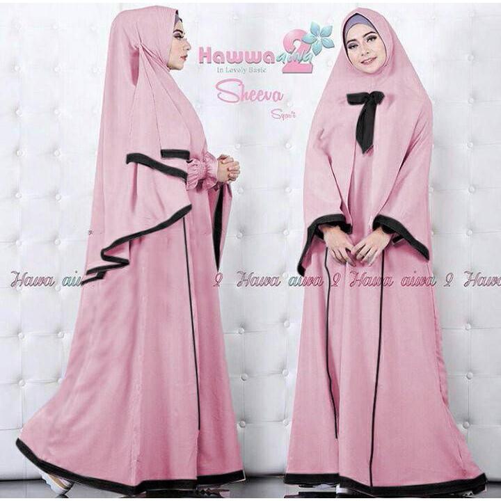 18- Sheeva syari'i Pink dw Murah
