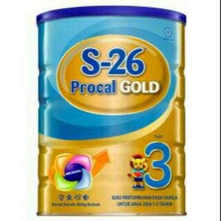 S-26 Procal Gold tahap 3 900g